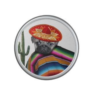 Mexican Pug dog Bluetooth Speaker