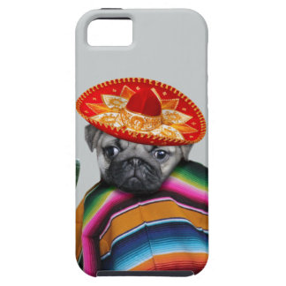 Mexican pug dog iPhone 5 case