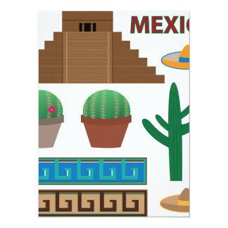 mexican pyramid card