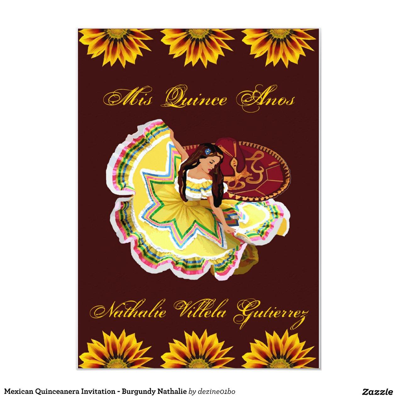 mexican_quinceanera_invitation_burgundy_nathalie ...