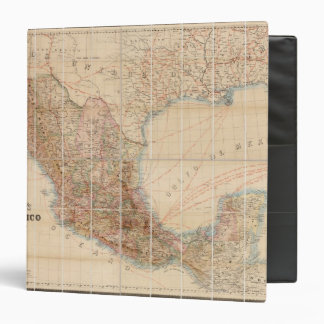 Mexican Railroad 3 Ring Binder