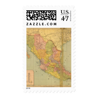 Mexican Railroads Stamp