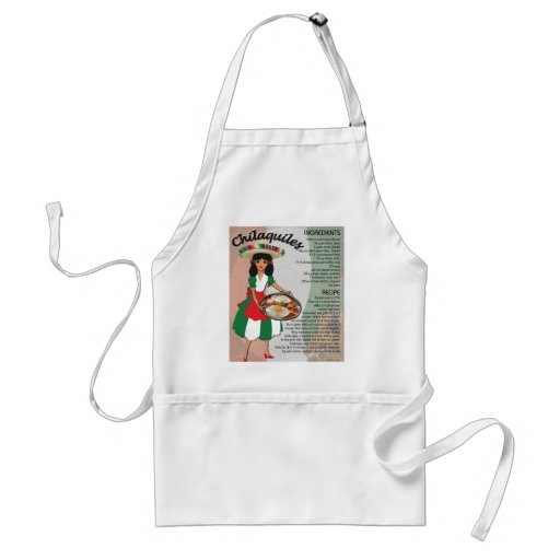 Mexican Recipe Aprons - Chilaquiles