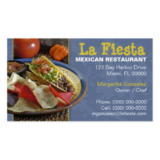 Mexican business cards templates zazzle for Mexican restaurant business cards