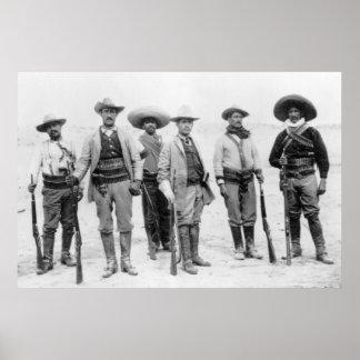 Mexican Revolution General, 1912 Print