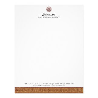 Mexican Rose Letterhead