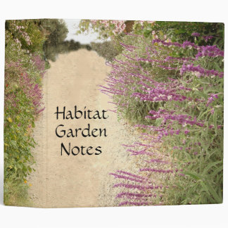 Mexican Sage Habitat Avery Binder