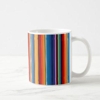 Mexican Sarape Classic White Coffee Mug