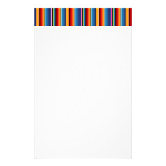 Mexican Sarape Stationery