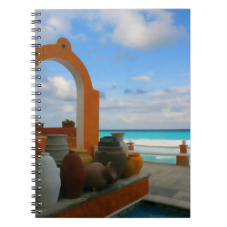 Mexican sea side notebook