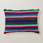 Mexican Serape Accent Pillow