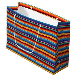 Mexican Serape Large Gift Bag