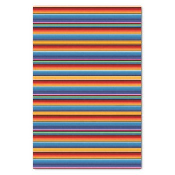 Mexican Serape Tissue Paper by HolidayBug at Zazzle