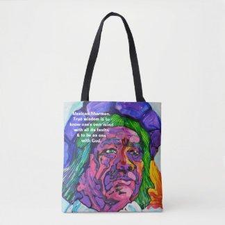 Mexican Shaman - Amazing Mexico Totebag Tote Bag