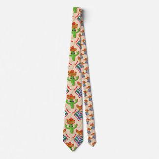 Mexican siesta neck tie