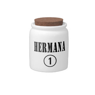 Mexican Sisters : Hermana Numero Uno Candy Jar