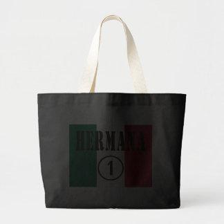 Mexican Sisters : Hermana Numero Uno Canvas Bag