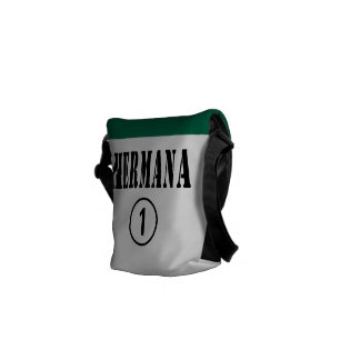 Mexican Sisters : Hermana Numero Uno Courier Bag
