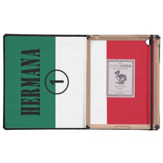 Mexican Sisters : Hermana Numero Uno iPad Cover
