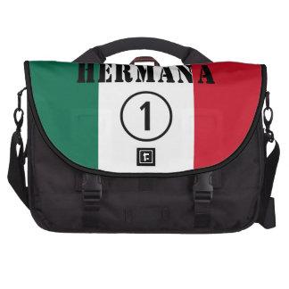 Mexican Sisters : Hermana Numero Uno Laptop Computer Bag