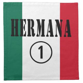 Mexican Sisters : Hermana Numero Uno Napkins