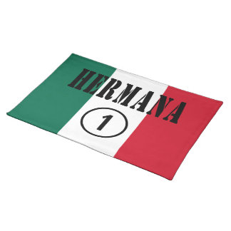 Mexican Sisters : Hermana Numero Uno Place Mat