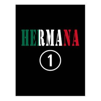 Mexican Sisters : Hermana Numero Uno Post Card