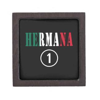 Mexican Sisters : Hermana Numero Uno Premium Jewelry Box