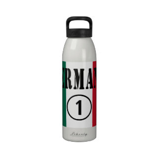 Mexican Sisters : Hermana Numero Uno Reusable Water Bottle