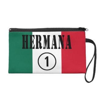 Mexican Sisters : Hermana Numero Uno Wristlets