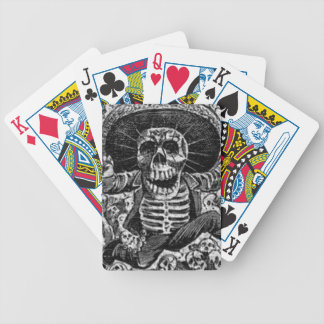 Mexican Skeleton Deck Playing Cards Halloween