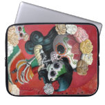 Mexican Skeleton Mother and Daughter Laptop Sleeves