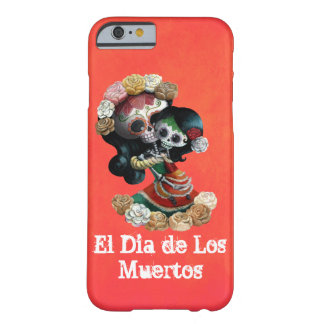 Mexican Skeleton Motherly Love Barely There iPhone 6 Case