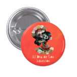 Mexican Skeleton Motherly Love Button