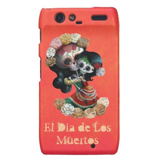 Mexican Skeleton Motherly Love Motorola Droid RAZR Covers