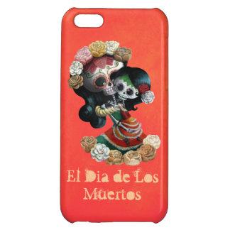 Mexican Skeleton Motherly Love iPhone 5C Case