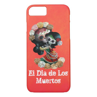 Mexican Skeleton Motherly Love iPhone 8/7 Case