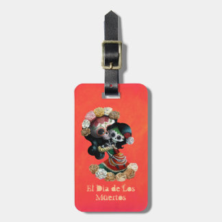 Mexican Skeleton Motherly Love Tag For Bags