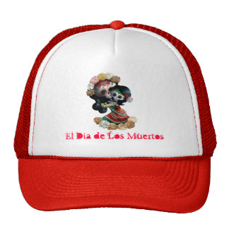 Mexican Skeleton Motherly Love Trucker Hat