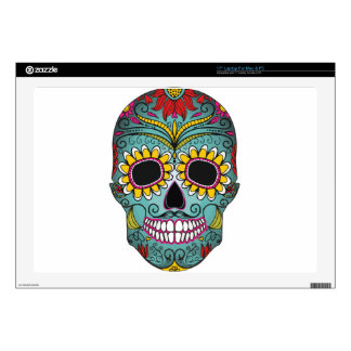 "Mexican Skull 17"" Laptop Skins"