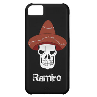 Mexican Skull iPhone 5 Cover Template