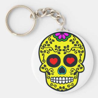 mexican skull  Keychain