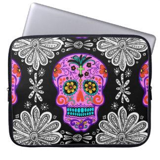 Mexican Skull Neoprene Laptop Sleeve