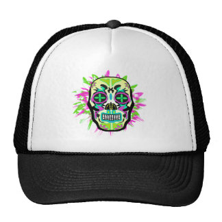 Mexican Skull Trucker Hat