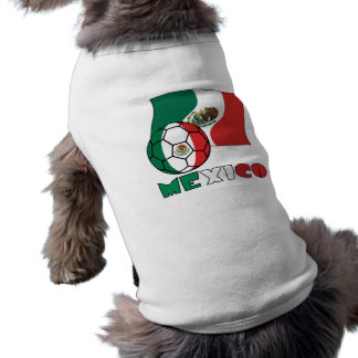 Mexican Soccer Ball and Flag Tee