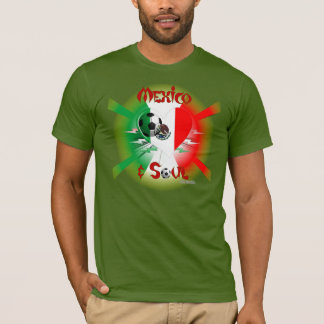 Mexican Soccer Soul Men's Tee