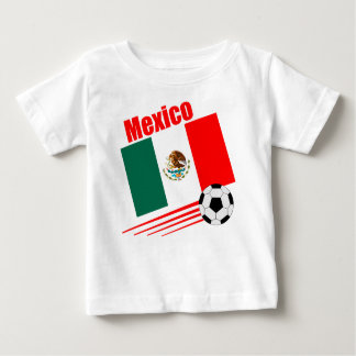 Mexican Soccer Team Baby T-Shirt