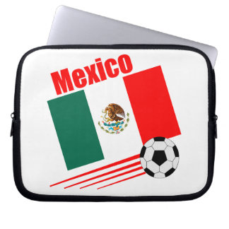 Mexican Soccer Team Laptop Sleeve