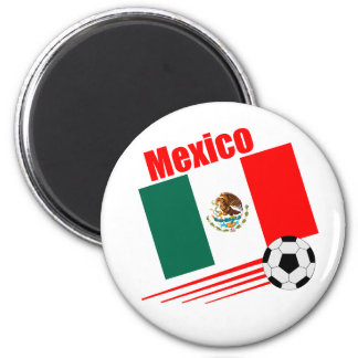 Mexican Soccer Team Refrigerator Magnet