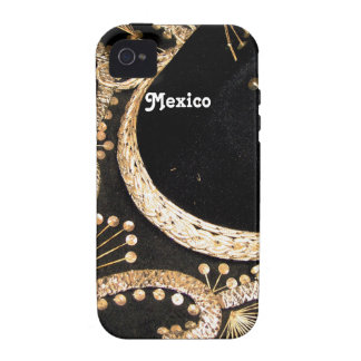 Mexican Sombrero Case-Mate iPhone 4 Cases